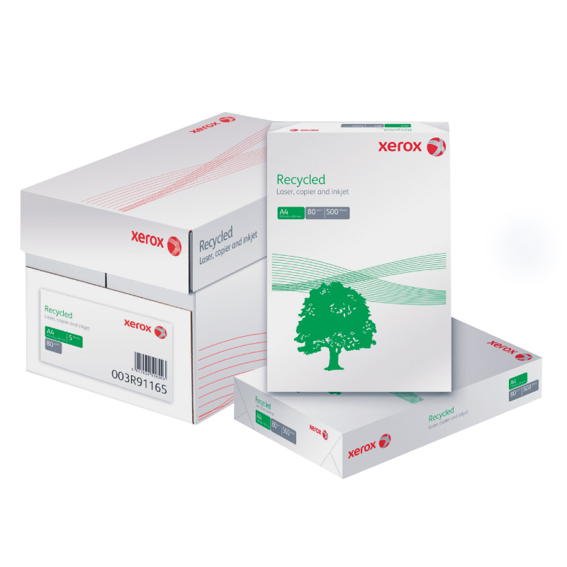 Koopiapaber Xerox Recycled A4 80g/m2