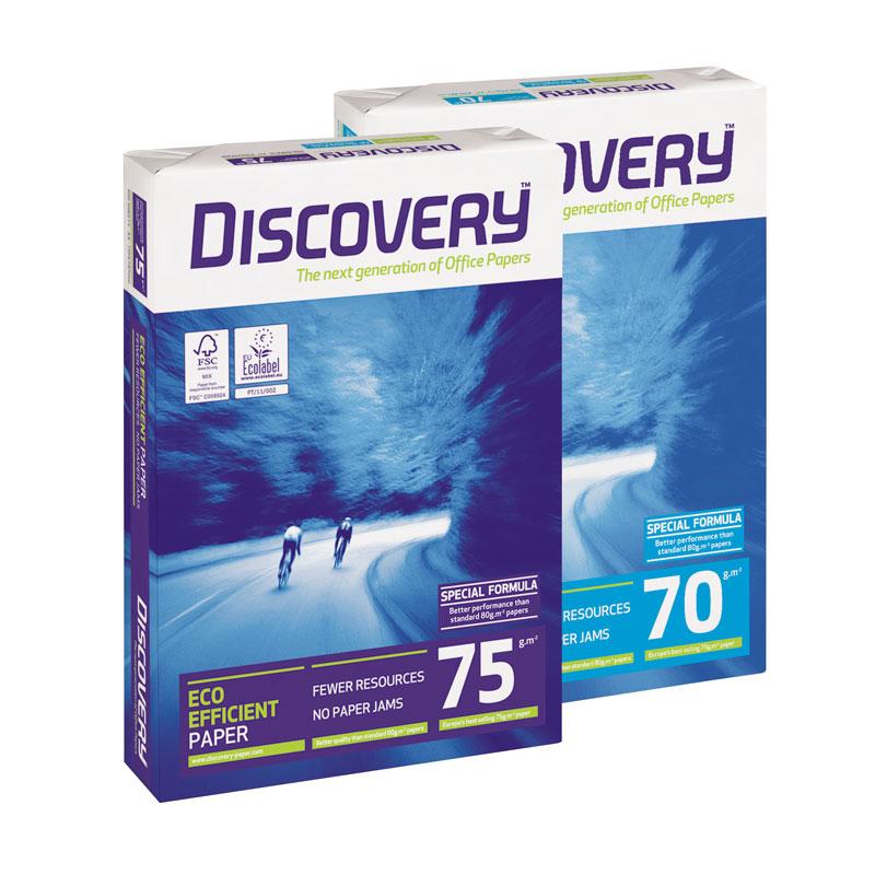 Koopiapaber DISCOVERY A4 75g/m2 500l/pk