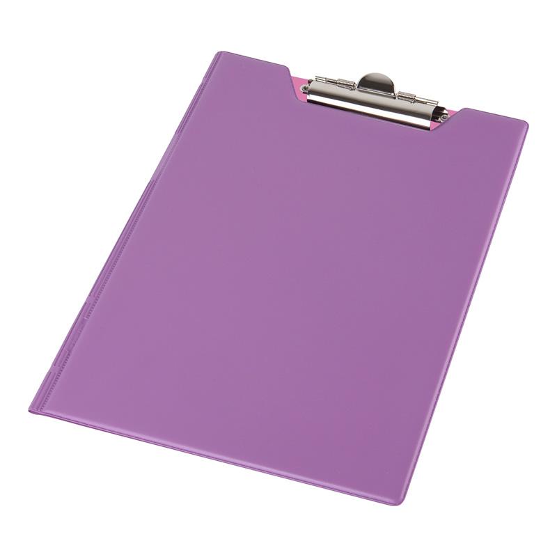 Kirjutusalus kaanega Pantaplast A4 lilla/roosa