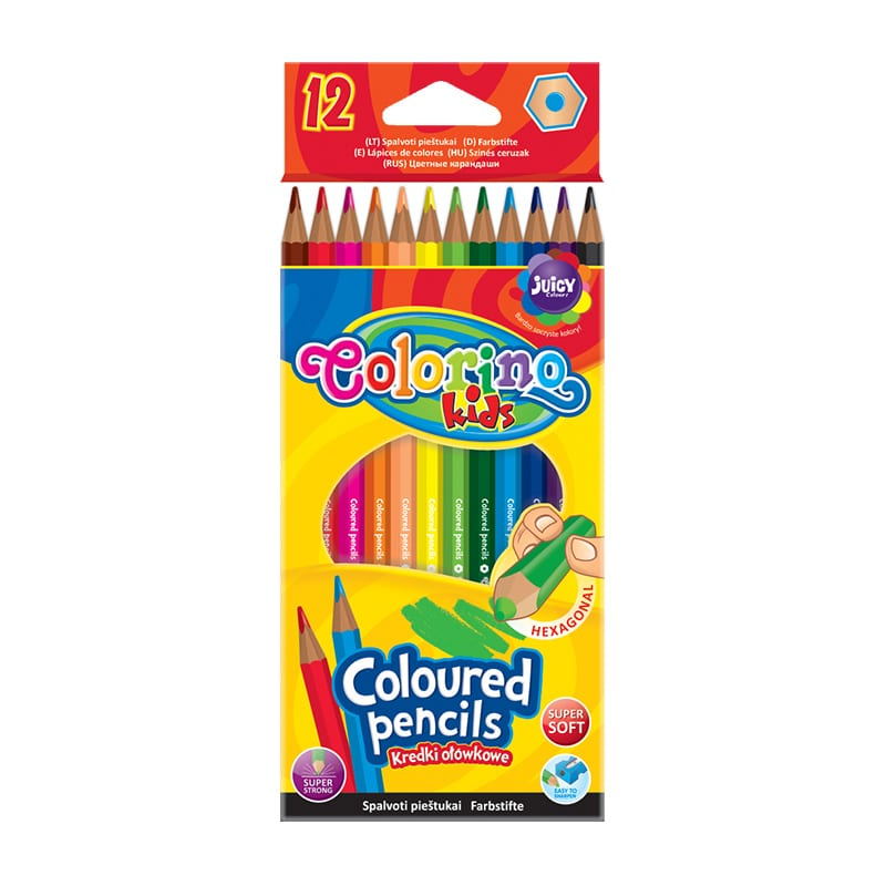 Värvipliiatsid Colorino Kids