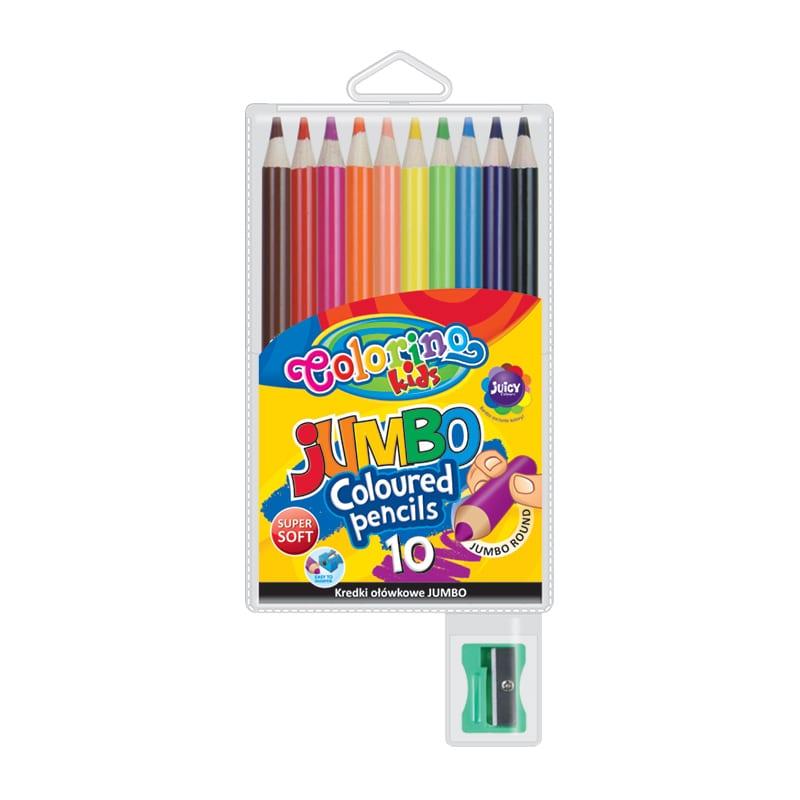 Värvipliiatsid Colorino Kids Jumbo