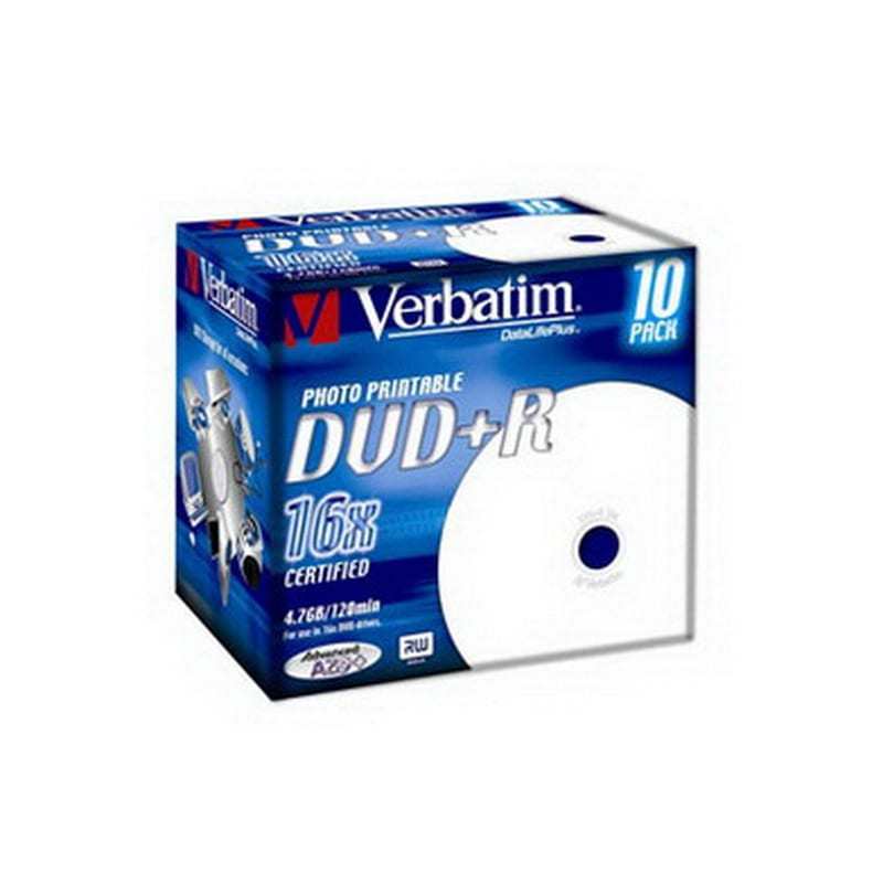 DVD+R Verbatim 43507 4