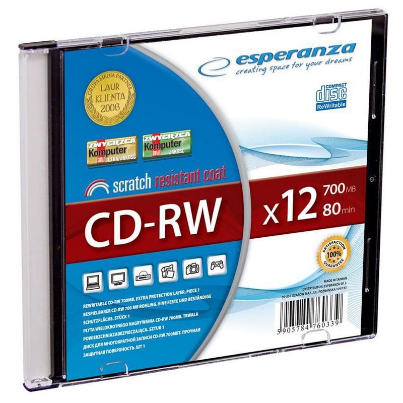 ESPERANZA Titanium CD-RW 700MB 12x