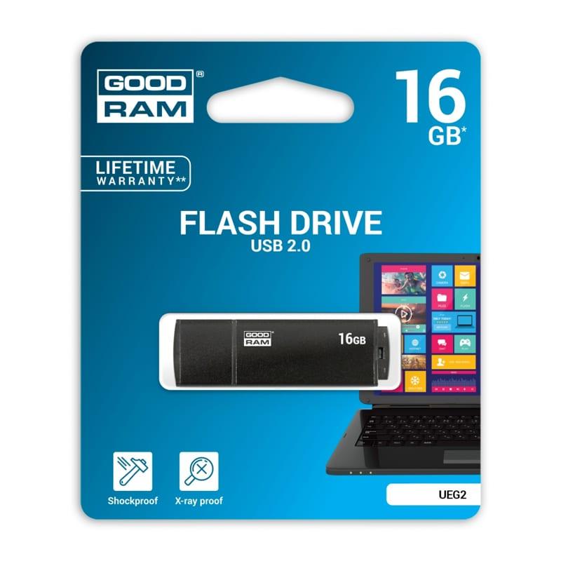 Mälupulk Goodram 16GB UEG2 USB2.0